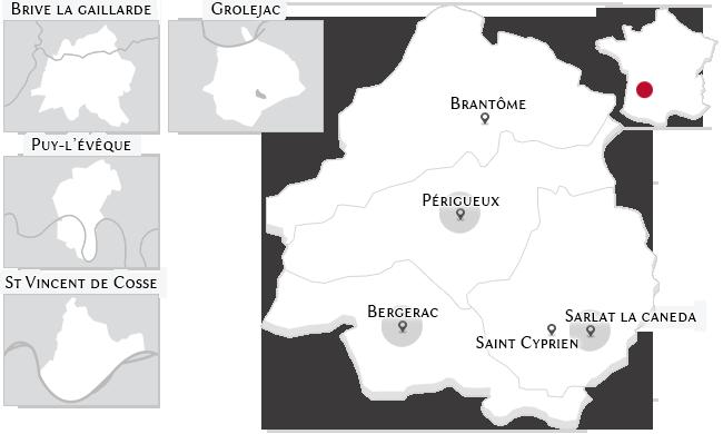 Les propriétés de prestige dans le Périgord